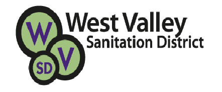West Valley Sanitation District