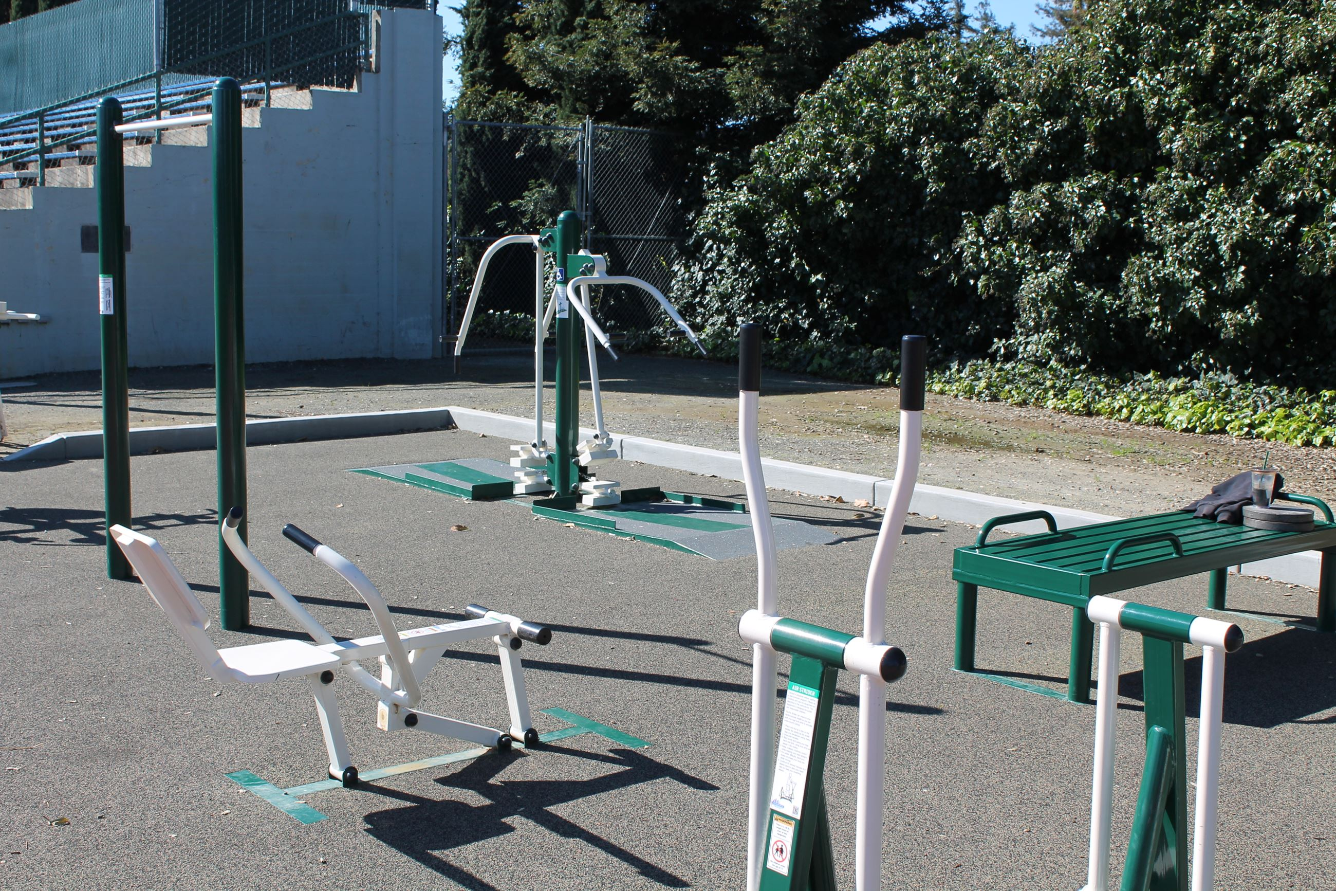 Campbell Community Center Track Equipment