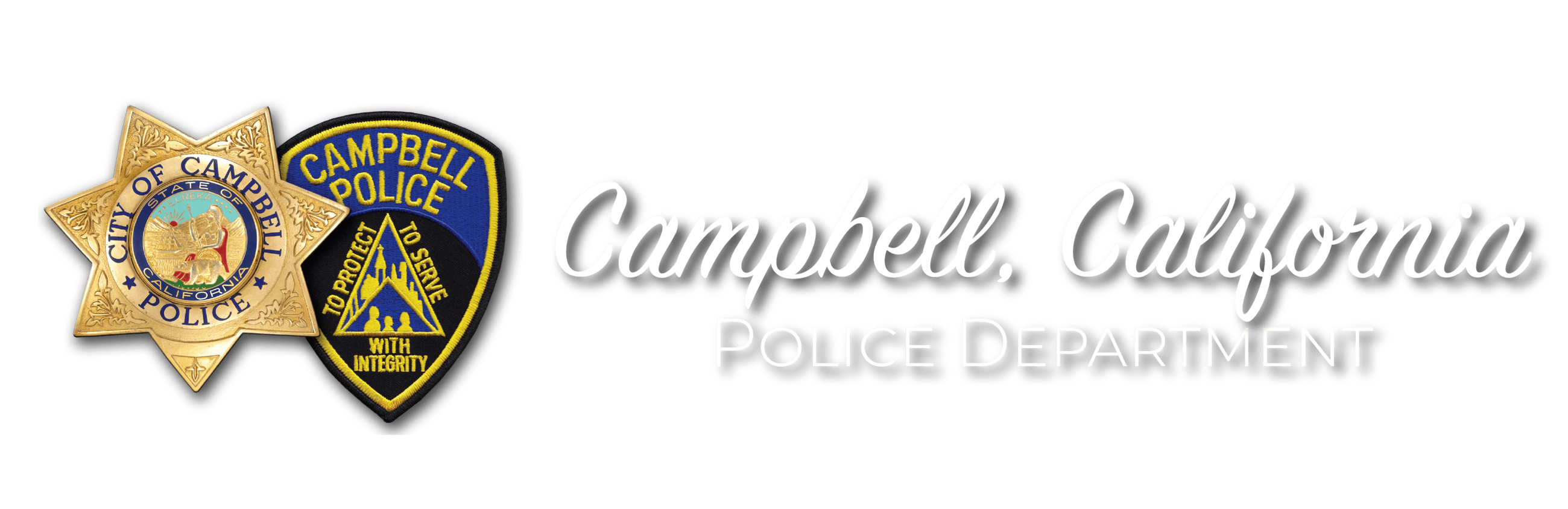 Campbell, California Police Department Homepage Icon.