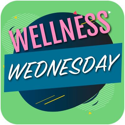 Wellness Wednesday button