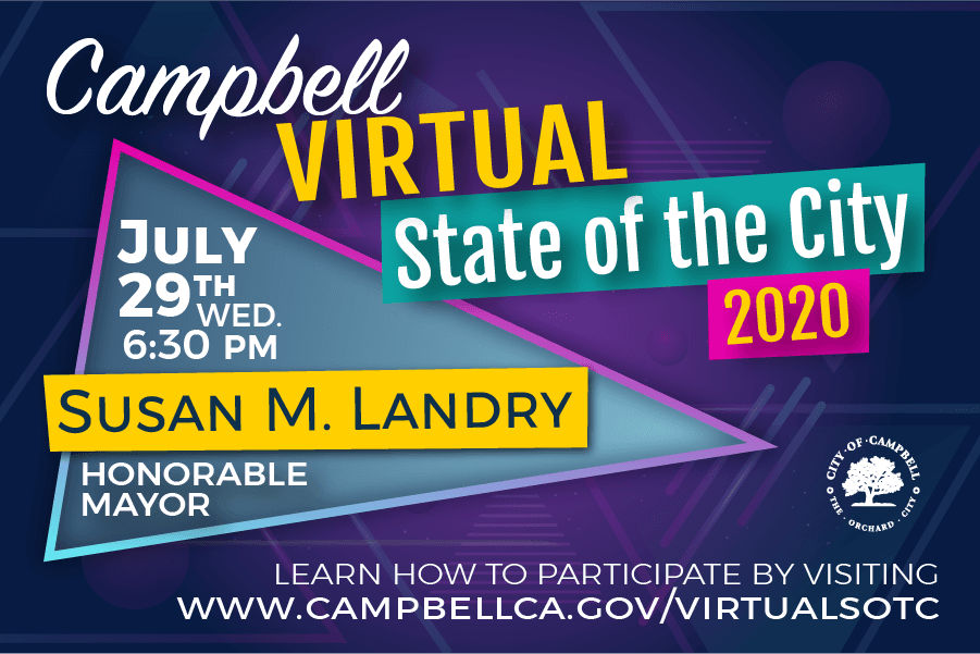 State of the City 2020 on July 29th at 6:30pm