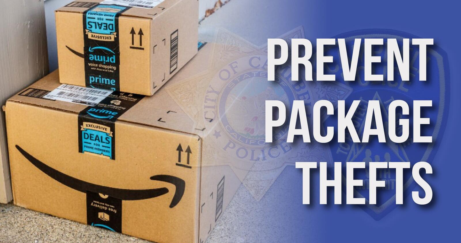 Prevent Package Thefts