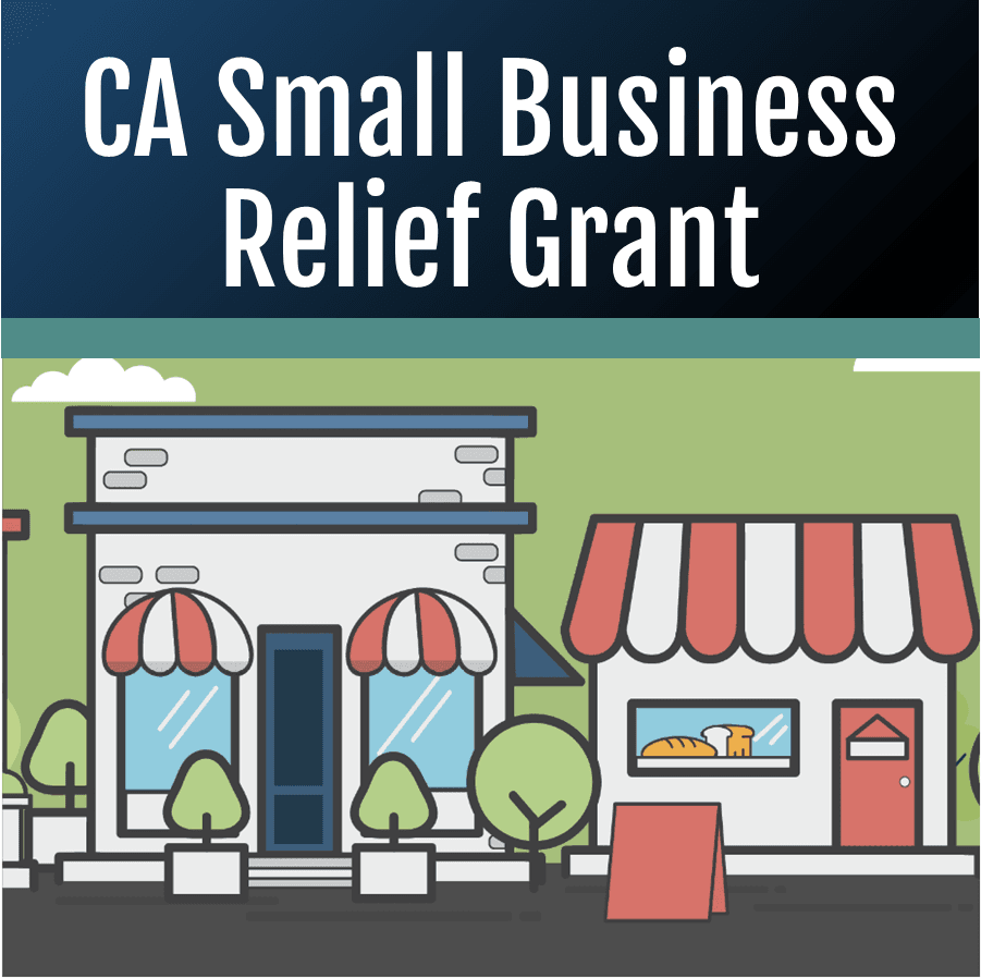CA Small Business Relief Grant