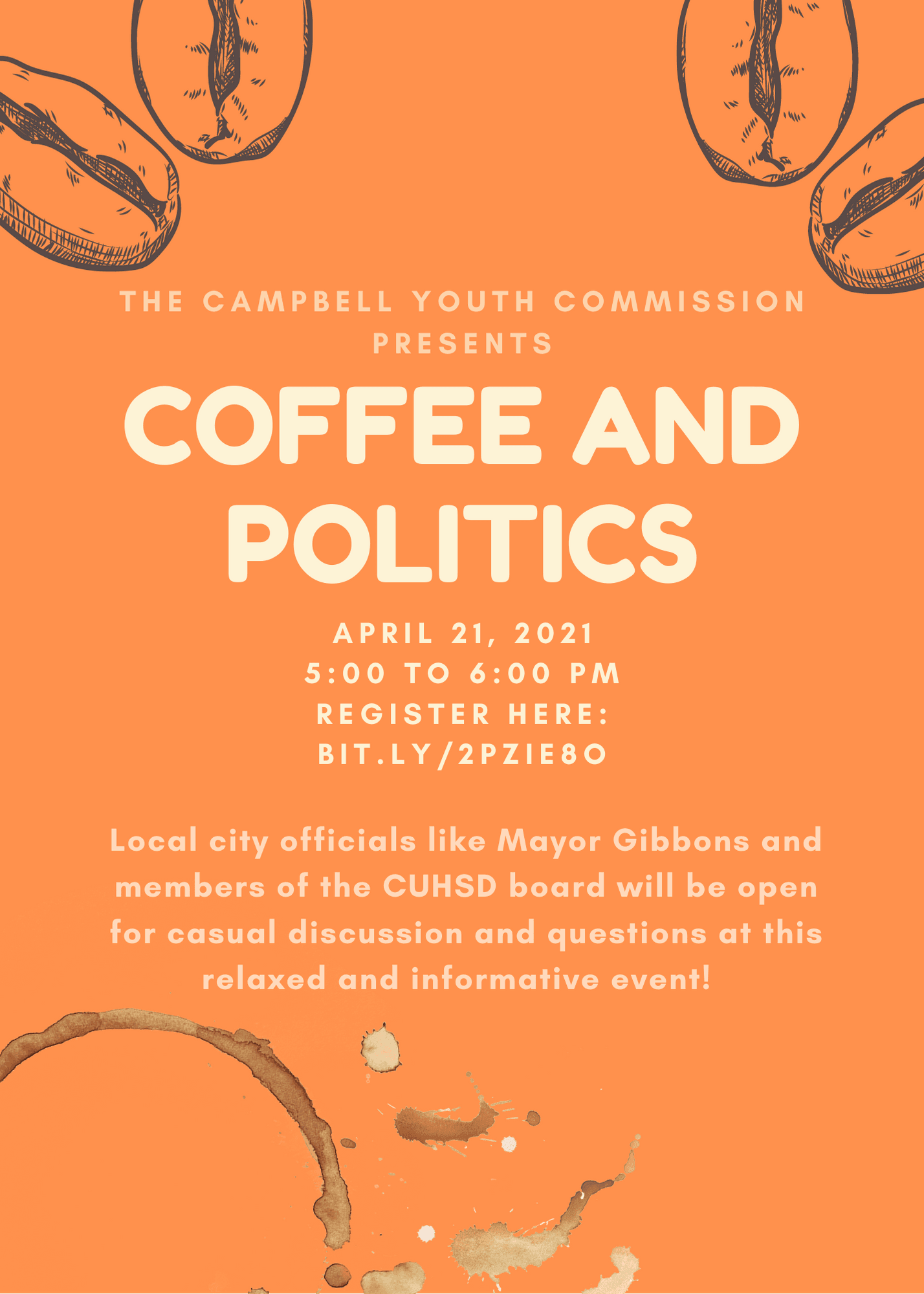 coffee and politics flyer